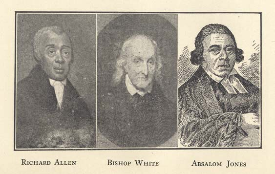 Bishop White is the person who ordained both Richard Allen and Absalom Jones.
